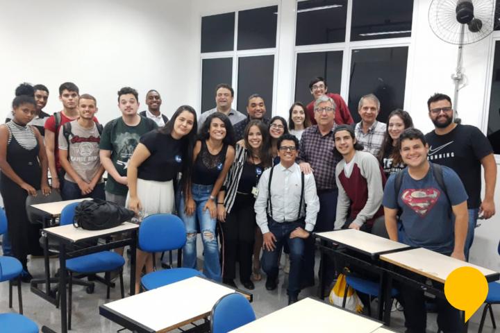 Hackathon no Instituto Federal São Paulo!