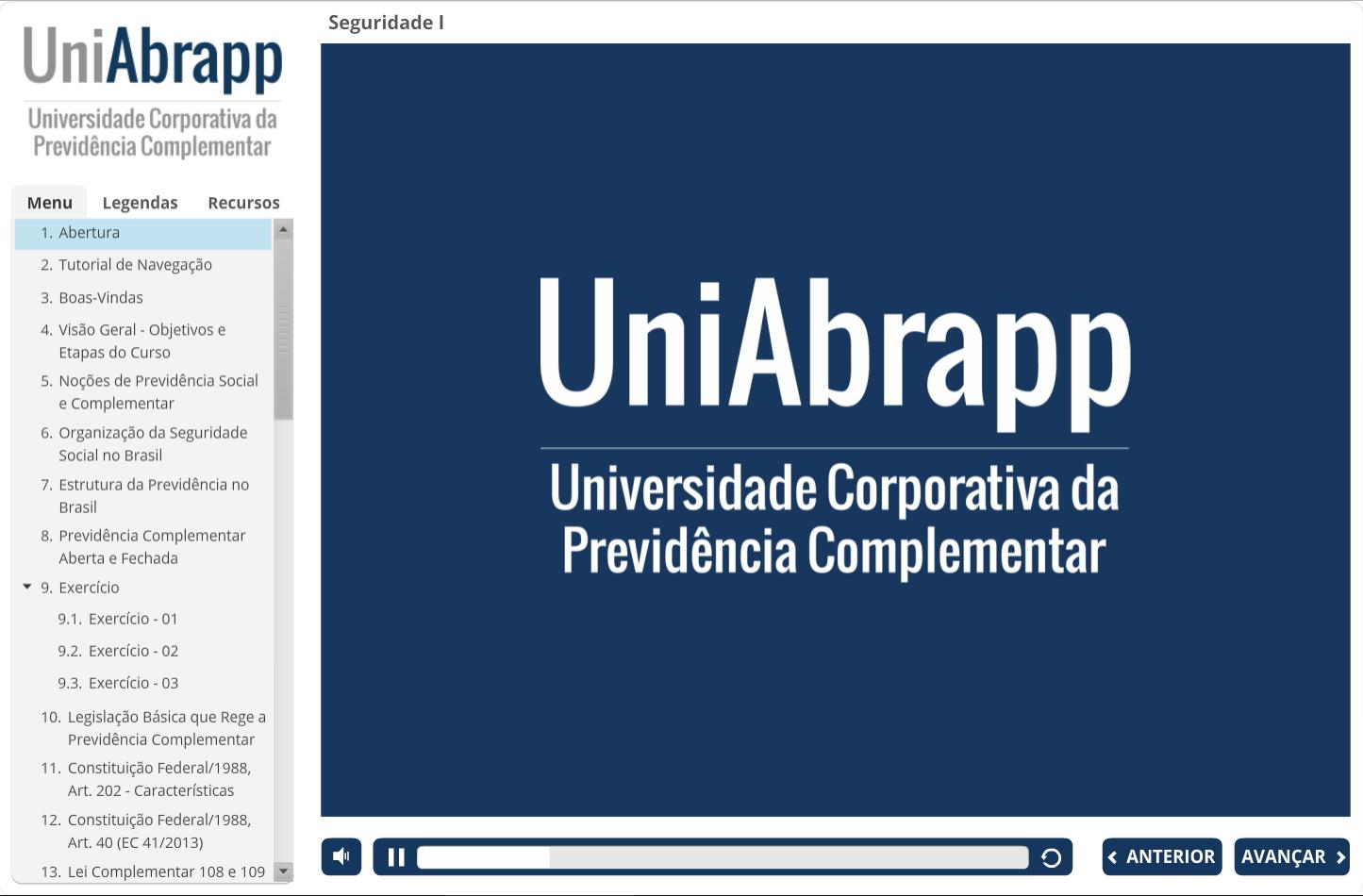 Curso – UniAbrapp